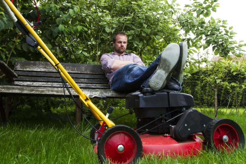 How to Stay Cool While Mowing the Lawn