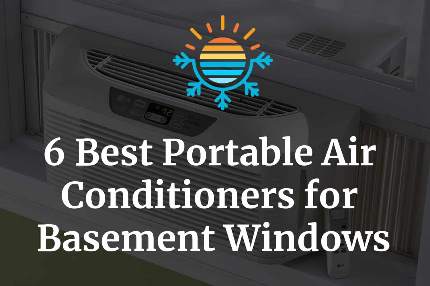 best portable air conditioners for basement windows